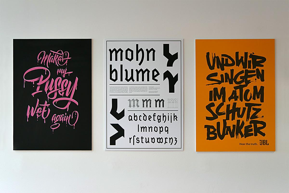 Entwurfsprojekte von Jacqueline Kreimer, Sarah Fyrguth & Laura Berger, FH Bielefeld, 2016/17