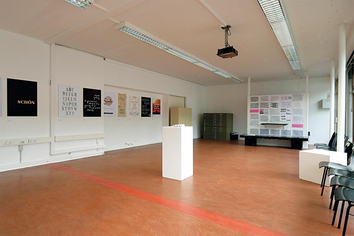Präsentation der Präsentation der Entwurfsprojekte während des Ultrafett-Festivals. FH Bielefeld, 2018.