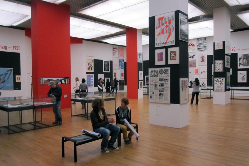 »Welt aus Schrift«-Ausstellung, Foto: Slawek Michalt/AfHAP