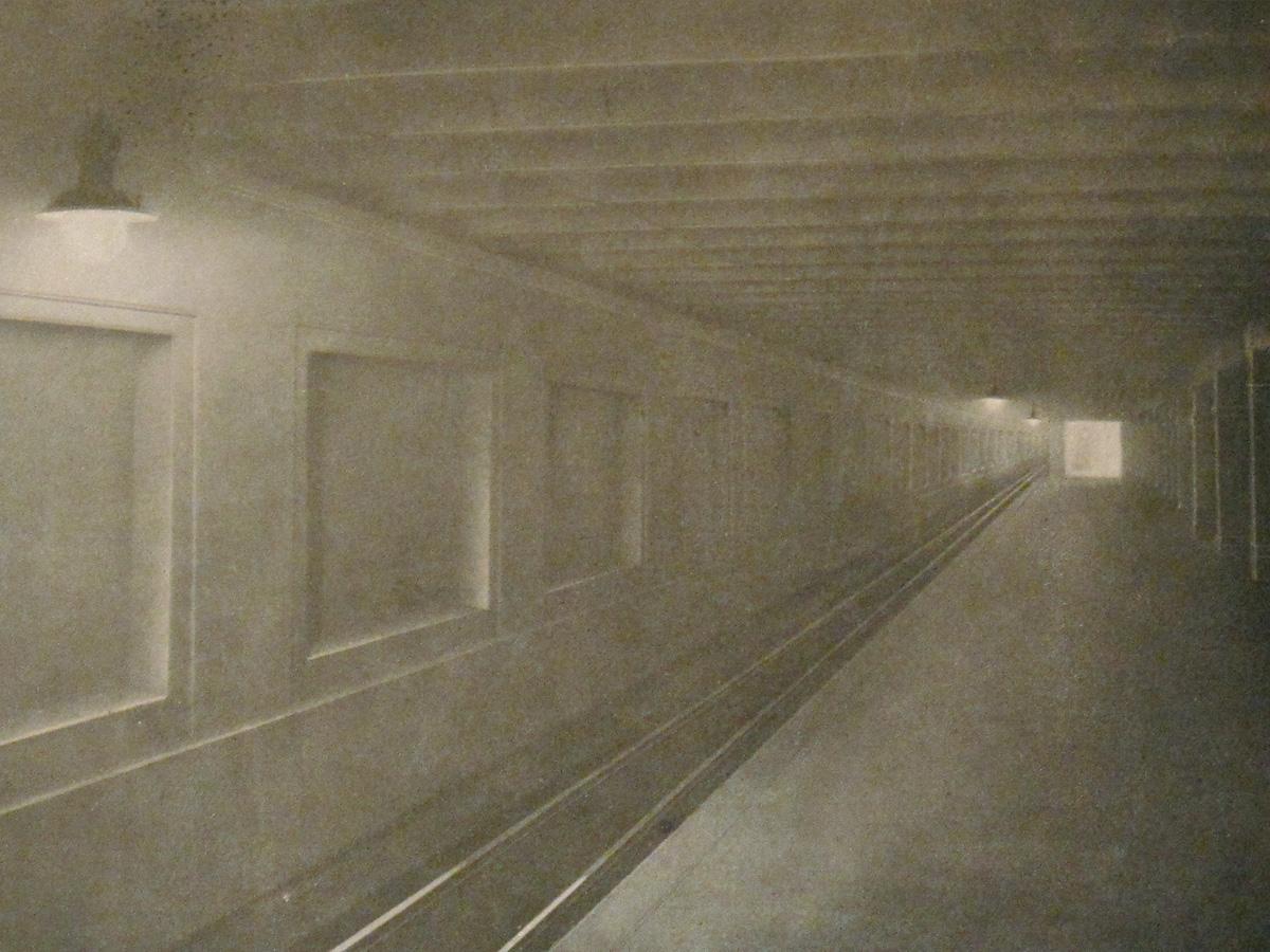 Abb.4: U-Bahnhof Voltastraße, aus: BEW-Mitteilungen, November 1915.